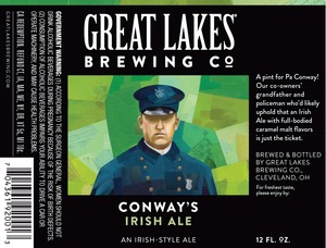 The Great Lakes Brewing Co. Conway's