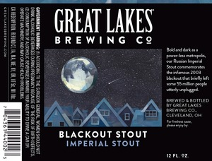 The Great Lakes Brewing Co. Blackout