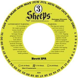 3 Sheeps Brewing Co. Brett IPA