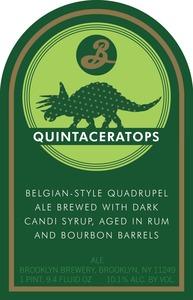 Brooklyn Brewery Quintaceratops