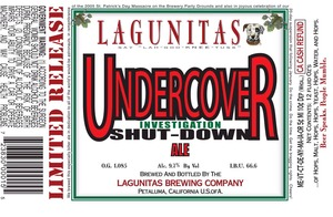 The Lagunitas Brewing Company Undercover Investigation Shut-down February 2015