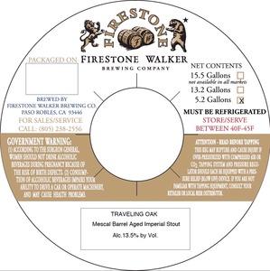 Firestone Walker Brewing Company Traveling Oak
