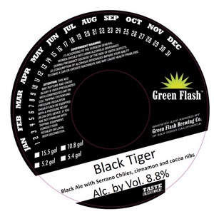 Green Flash Brewing Company Black Tiger