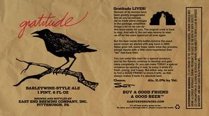 Gratitude Barleywine Style Ale
