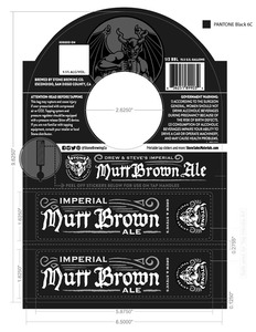 Stone Brewing Co Imperial Mutt Brown Ale