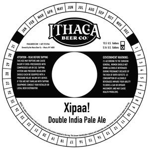 Ithaca Beer Company Xipaa!