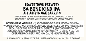 Beavertown Brewery Ba Bone King IPA