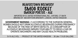 Beavertown Brewery Smog Rocket