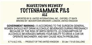 Beavertown Brewery Tottenhammer Pils