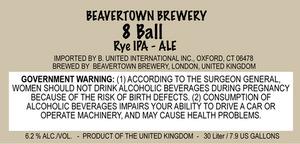 Beavertown Brewery 8 Ball