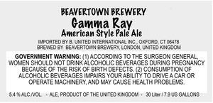 Beavertown Brewery Gamma Ray
