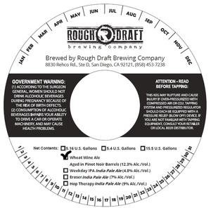 Rough Draft Brewing Company Wheat Wine Ale