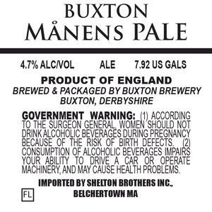 Buxton Brewery Manens Pale