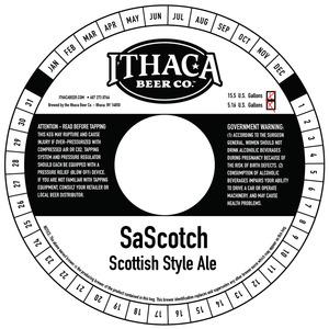 Ithaca Beer Company Sascotch