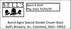 Bell's Barrel Aged Special Double Cream Stout