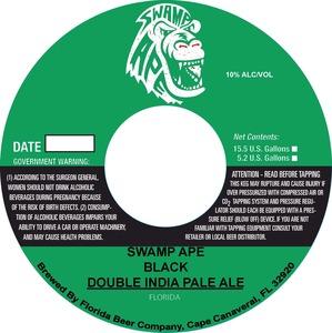 Florida Beer Company Swamp Ape Black