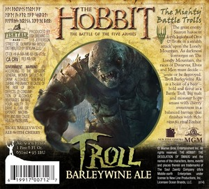 Fishtale Ales Troll Barleywine Ale