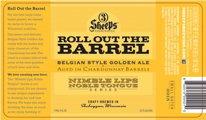 3 Sheeps Brewing Co. Roll Out The Barrel