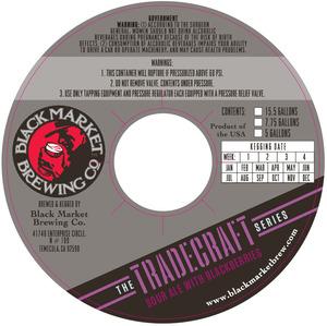 Black Market Brewing Co Tradecraft - Sour Ale With Blackberries