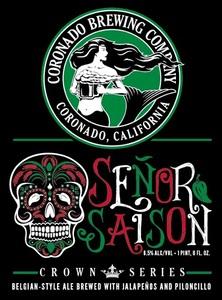 Coronado Brewing Company Senor Saison