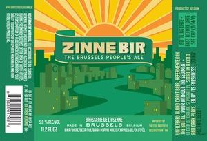 Brasserie De La Senne Zinne Bir
