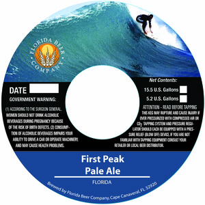 Florida Beer Company First Peak