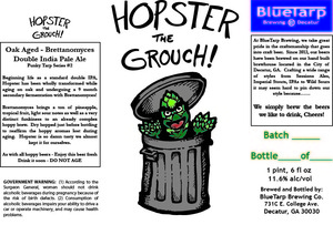 Bluetarp Brewing Company Hopster The Grouch