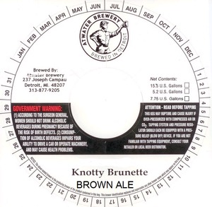 Atwater Brewery Knotty Brunette