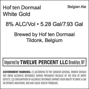 Hof Ten Dormaal White Gold