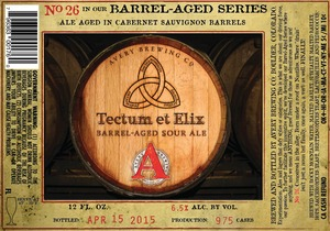 Avery Brewing Company Tectum Et Elix