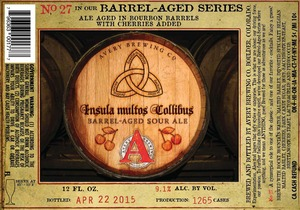 Avery Brewing Company Insula Multos Collibus
