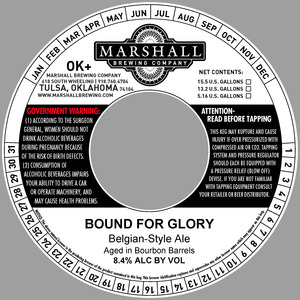 Marshall Brewing Company Bound For Glory
