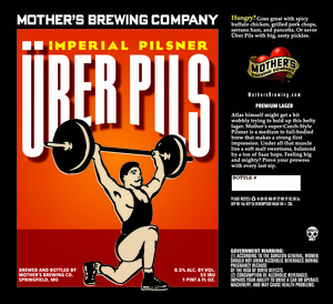 Mother's Brewing Company Uber Pils