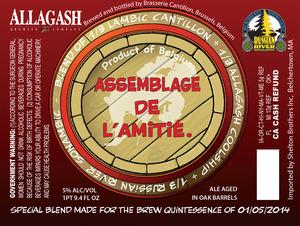 Brasserie Cantillon Assemblage De L'amite