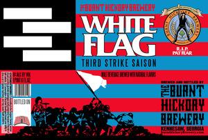 Burnt Hickory Brewery White Flag