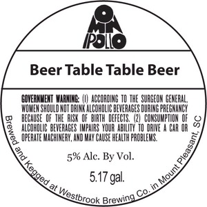 Omnipollo Beer Table Table Beer