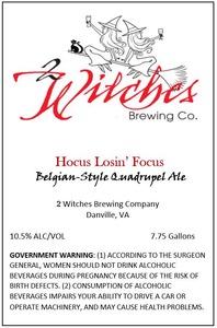 2 Witches Brewing Company Hocus Losin' Focus