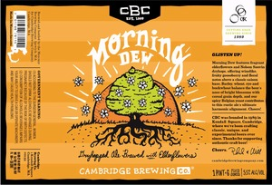 Cambridge Brewing Company Morning Dew