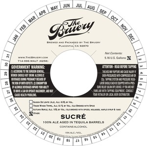 The Bruery Sucre