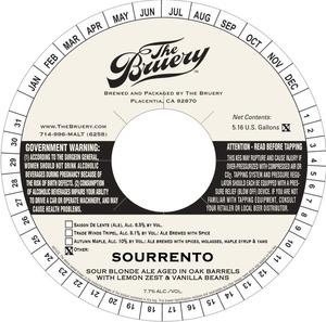 The Bruery Sourrento