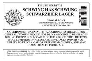 Highland Brewing Co. Schwing Has Schwung
