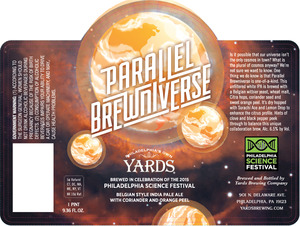 Yards Brewing Company Parallel Brewniverse