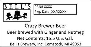 Bell's Crazy Brewer Beer