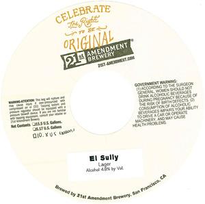 21st Amendment Brewery El Sully