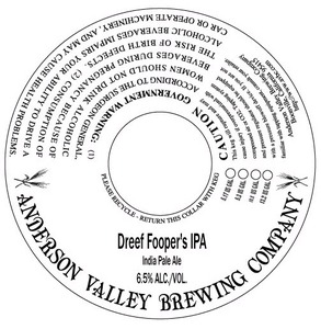 Anderson Valley Brewing Company Dreef Fooper's