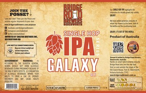 Bridge Road Brewers Galaxy