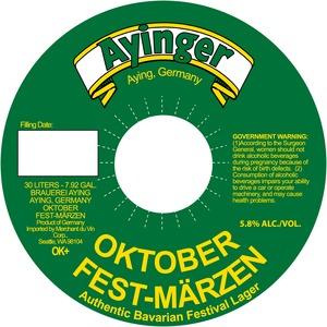 Ayinger Oktober Fest-marzen