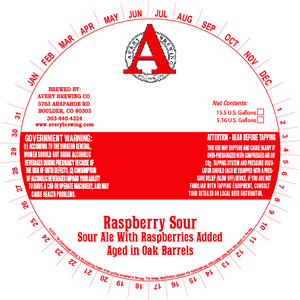 Avery Brewing Company Raspberry Sour