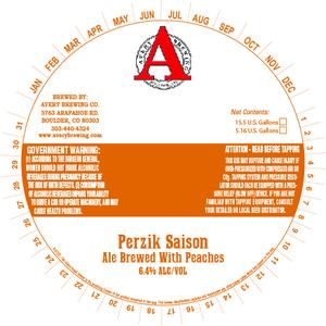 Avery Brewing Company Perzik Saison