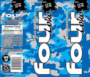 Four Loko Blue Hurricane